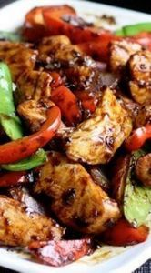 Stir-Fried Chicken with Chinese Ga - 60 Wok Recipes - Popular Stir-Fry and Wok Recipes - RecipePin.com