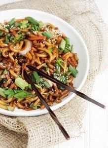 15 Minute Spicy Udon Stir Fry - pe - 60 Wok Recipes - Popular Stir-Fry and Wok Recipes - RecipePin.com