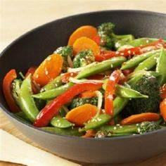 Use fresh vegetables in season to  - 60 Wok Recipes - Popular Stir-Fry and Wok Recipes - RecipePin.com
