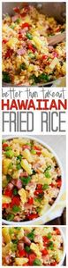 This Hawaiian Fried Rice is SO muc - 60 Wok Recipes - Popular Stir-Fry and Wok Recipes - RecipePin.com