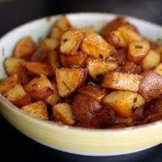 Roasted Red Potatoes with Smoked P - 60 Wok Recipes - Popular Stir-Fry and Wok Recipes - RecipePin.com